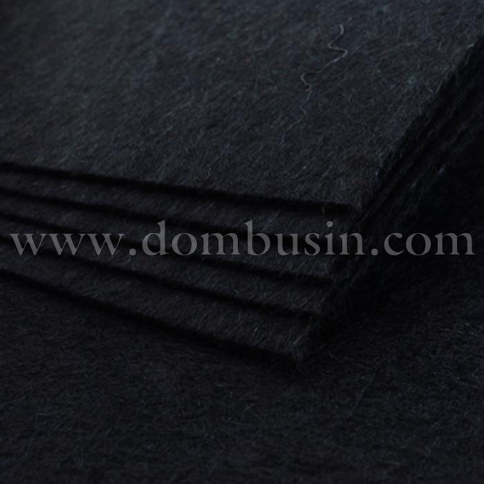 Фетр, Полиэстер, Цвет: Черный, Размер: 298~300x298~300x1мм, 1шт (УТ100006273)