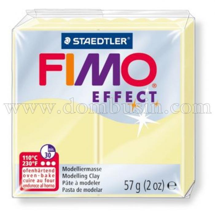 Полимерная Глина, FIMO Effect, №105 (57г), Цвет: Ваниль, (УТ100013533)