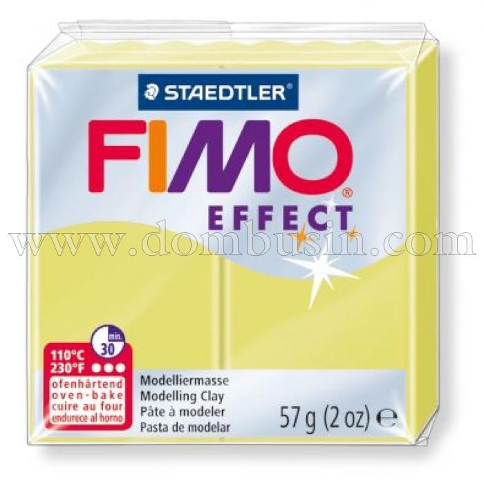 Полимерная Глина, FIMO Effect, №106 (57г), Цвет: Цитрин, (УТ100013534)