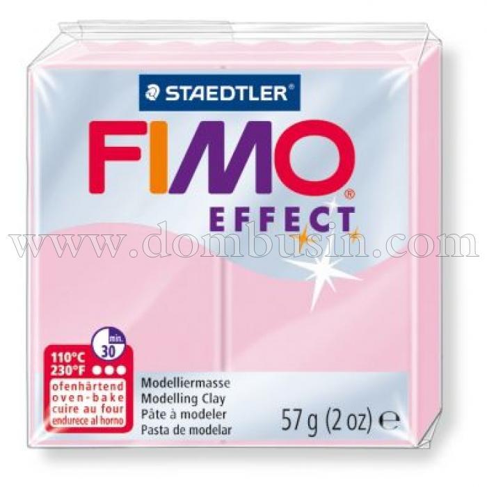 Полимерная Глина, FIMO Effect, №205 (57г), Цвет: Пастельно-розовый, (УТ100013539)