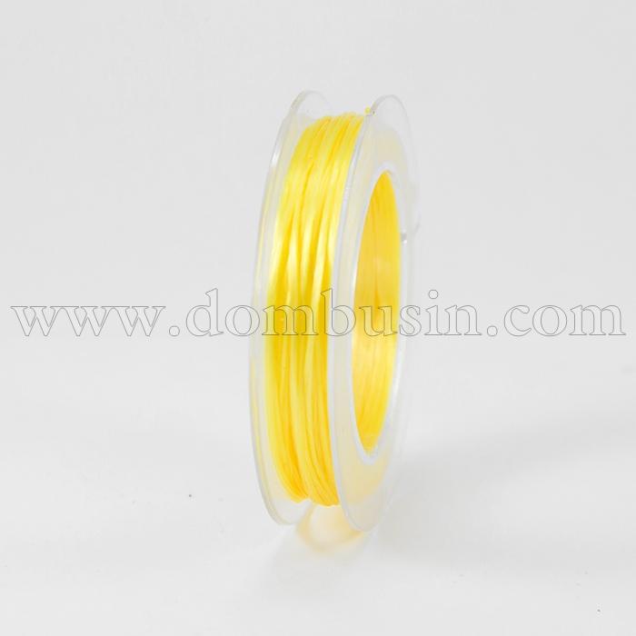 Нить Упругая Эластичная 0.8мм/10м, Цвет: Золотистый, Толщина 0.8мм, около 10м/1катушка, (УТ100015670)