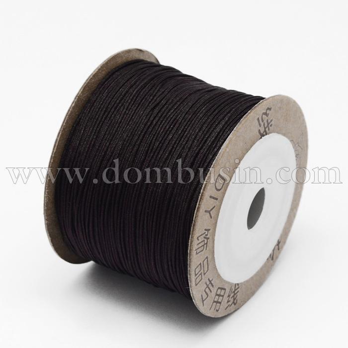Шнур Нейлоновый, Цвет: Темно-коричневый, Размер: Диаметр 0.6мм, (УТ100015786)