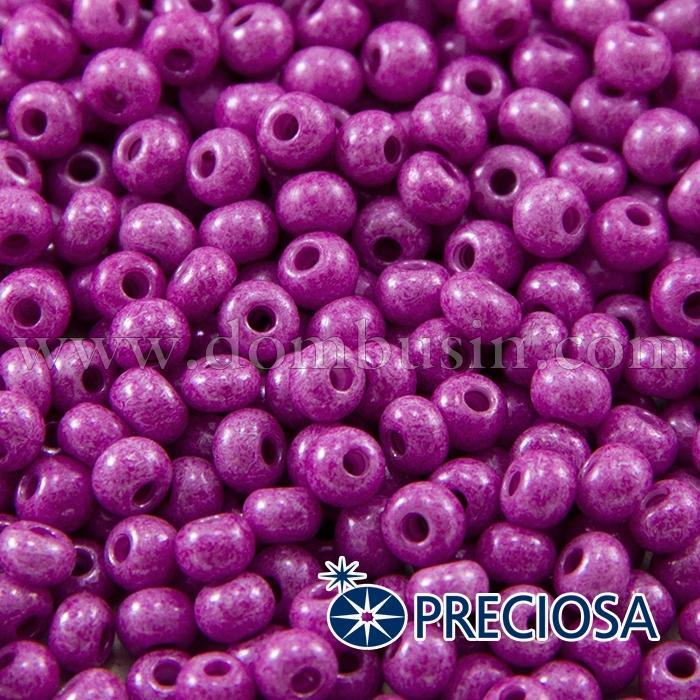 Бисер 16325 Чешский Preciosa 6/0, Солгель Окрашенный SDC, Розовый, Круглый, (УТ100015877)