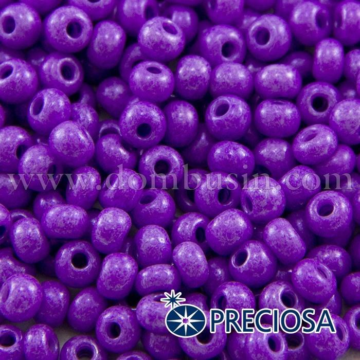 Бисер 16328 Чешский Preciosa 6/0, Солгель Окрашенный SDC, Сиреневый, Круглый, (УТ100015878)