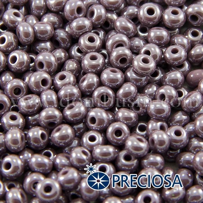 Бисер 28020 Чешский Preciosa 6/0, Непрозрачный Радужный OL, Коричневый, Круглый, (УТ100015889)