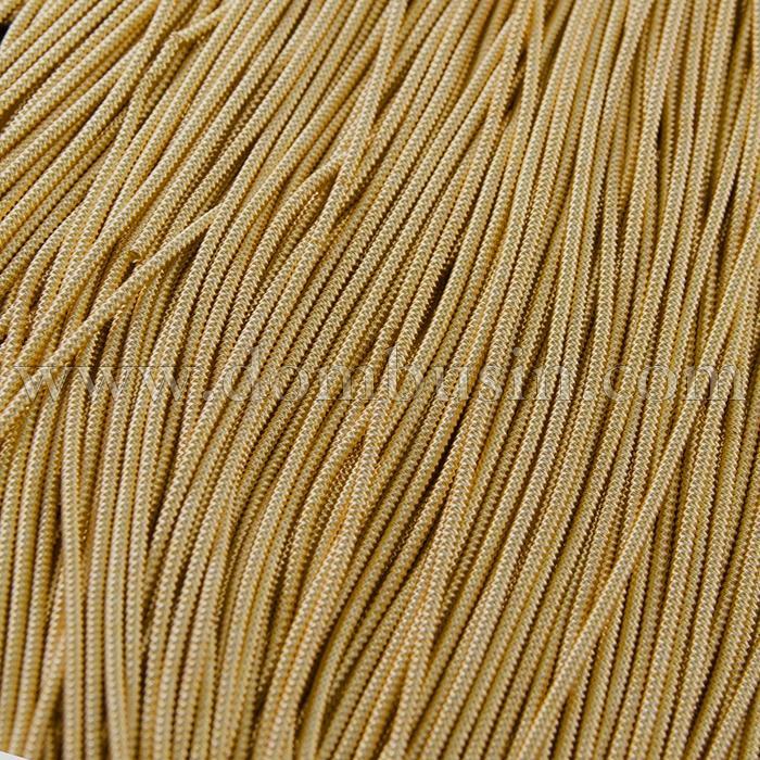 Канитель Фигурная Матовая Зигзаг 1.7мм, Цвет: Золото F10, отрезки не менее 8см, около 80см/5г, (УТ100015969)