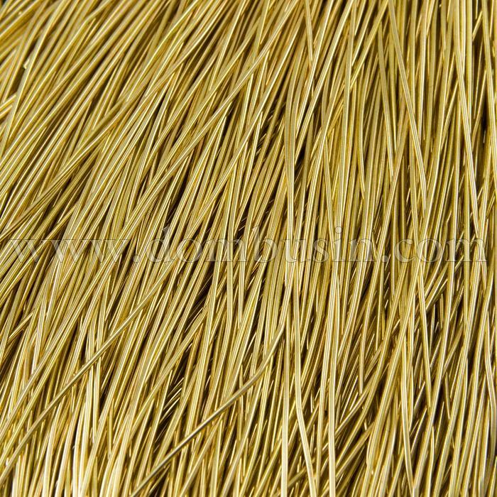 Канитель Гладкая 1мм, Цвет: Золото Классика G11, отрезки не менее 8см, около 580см/10г,  (УТ100015975)
