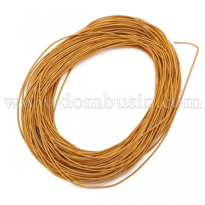 Канитель Жесткая, Цвет: Оранжевый, Диаметр 1.25мм, отрезки не менее 8см, около 165см/10г, (УТ100021425)