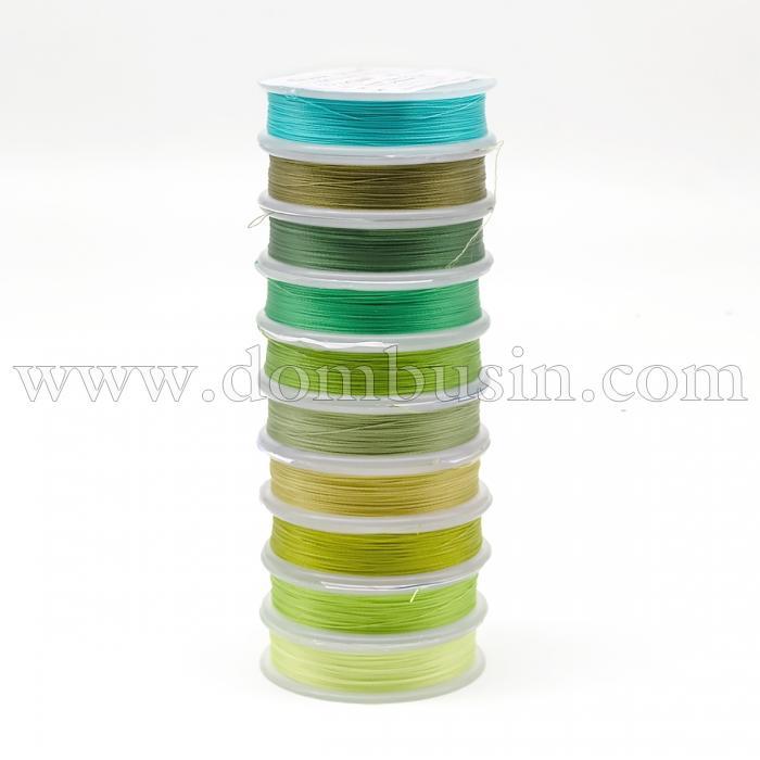 Нить TYTAN 100, Цвет: Микс 7, Размер: Диаметр 0,1мм, около 100м/катушка, 10 катушек/набор, (УТ100024537)