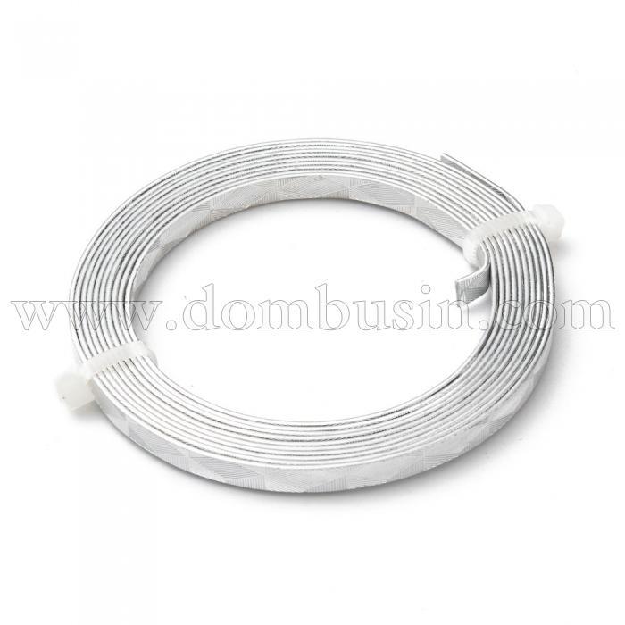 Алюминиевая Проволока 5мм/2м, Цвет: Серебро, Толщина 1мм, 2м/катушка, (УТ100024578)