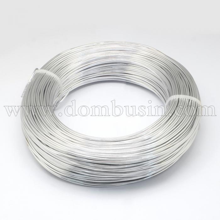 Алюминиевая Проволока 0.6мм/280м, Цвет: Серебро, Толщина 0.6мм, 280м/катушка, (УТ100024614)