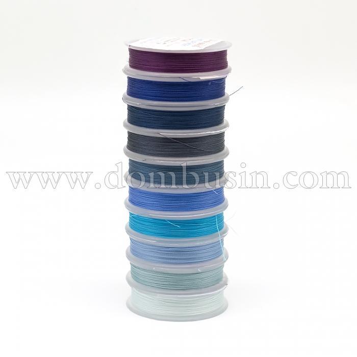Нить TYTAN 100, Цвет: Микс 8, Размер: Диаметр 0,1мм, около 100м/катушка, 10 катушек/набор, (УТ100024939)